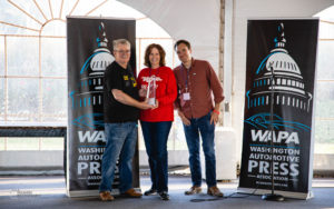 FCA accepts the WAPA 2019 Rally Award